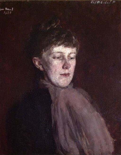 Portrait of Sara Scheel