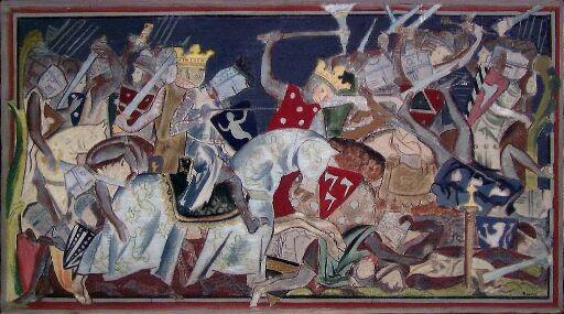 Harald Hardråde i slaget ved Stamford bro