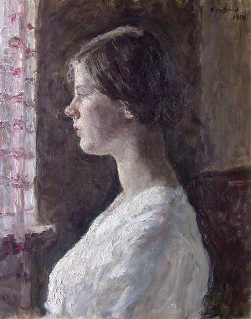 Portrait of Lilli Scheel