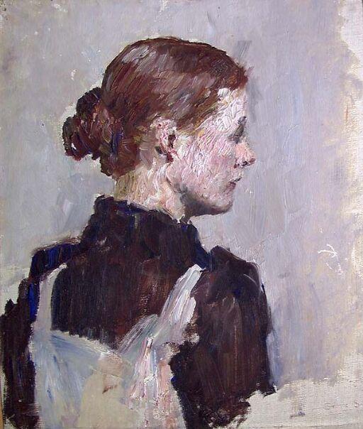 Figure Study of the Painter Helga Ring (Reusch)