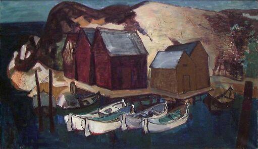 Sjøbuer og båter