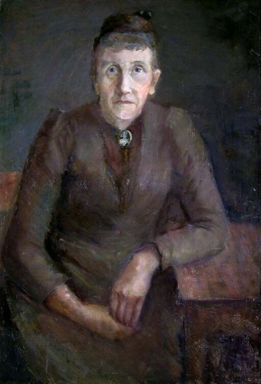 Portrait of the Artist's Mother, Therese b. Ottesen