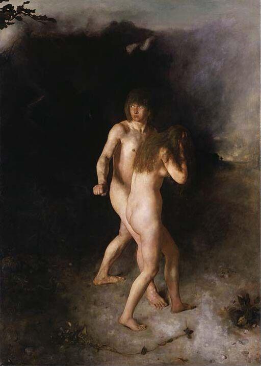 Adam og Eva drives ut av Paradiset