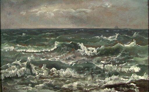Sjøstudie fra Napoligolfen