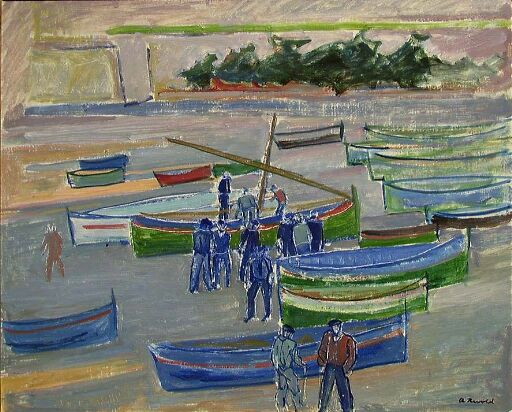Blå båter