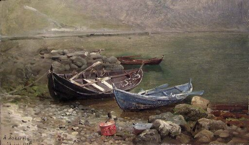 Boats at the Seaside