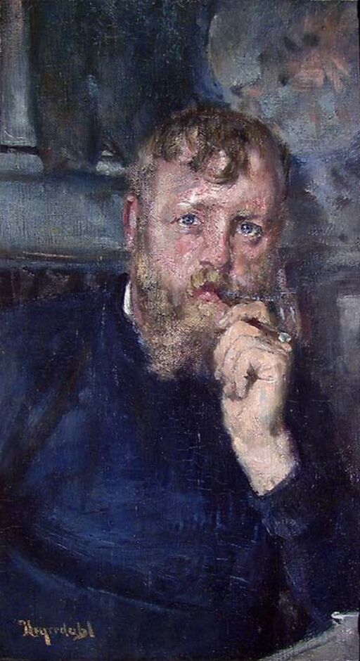 Portrait of the Painter Frits Thaulow