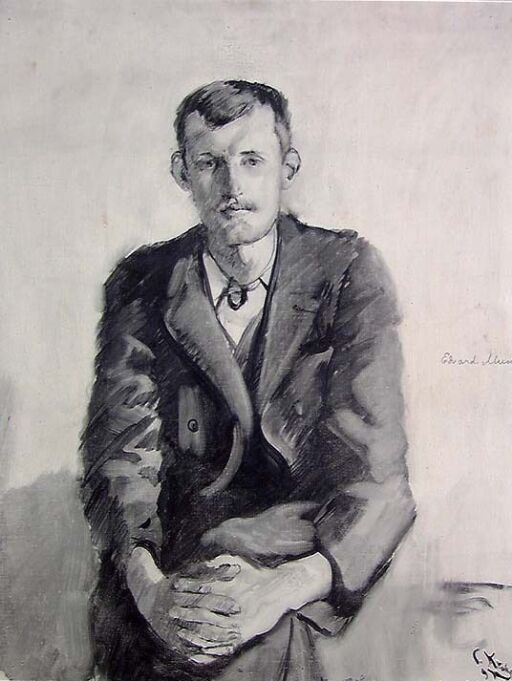 The Painter Edvard Munch