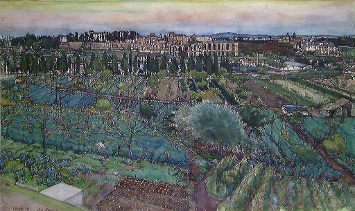 Keiserborgen i Roma