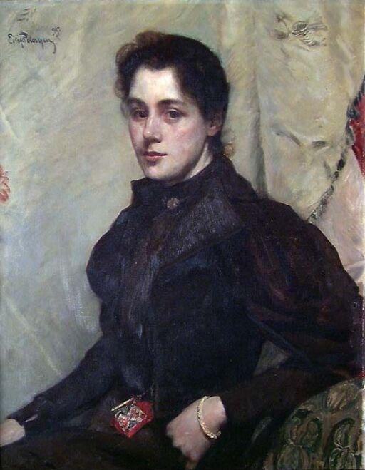 Portrait of Mrs. Ria Willams, b. Dick