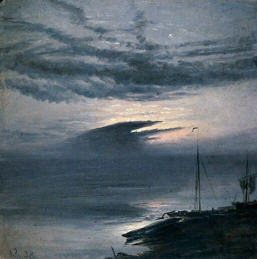 Måneskinn ved Elben