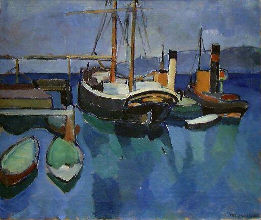 Havnen i Son