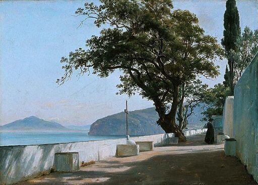 Terrace with Oak, Sorrento