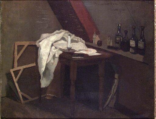 Kunstnerens atelier i Paris