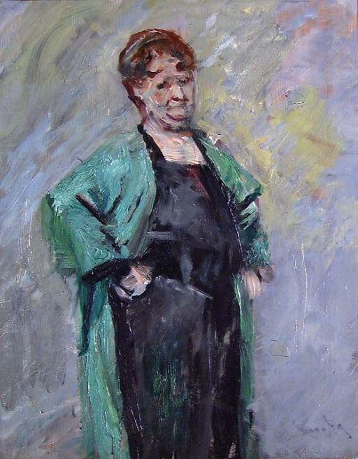 Portrait of the Painter Marie Hauge
