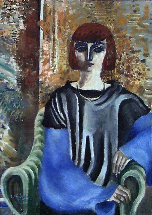 La femme en noir