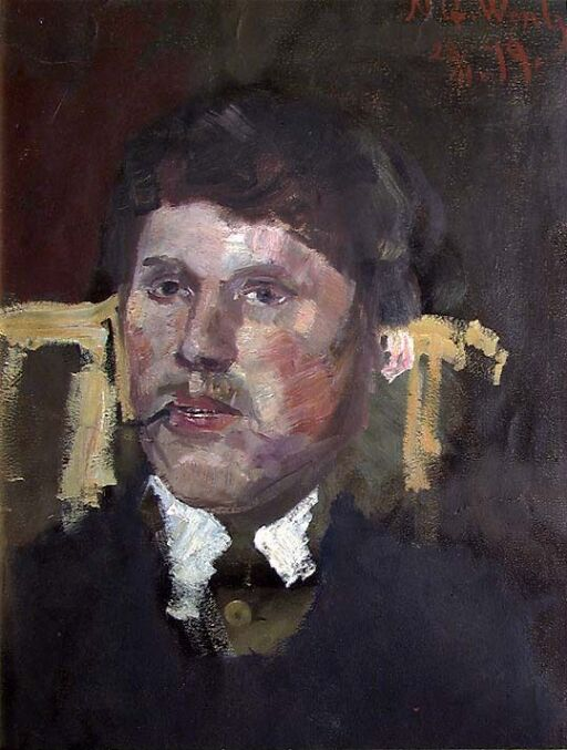 Portrait of the Painter Thorvald Torgersen