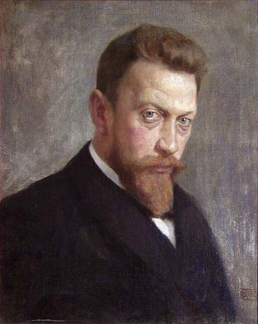 Portrait of the Painter Otto Wium