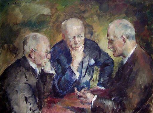 Christian Sinding, Gunnar Heiberg og Knut Hamsun