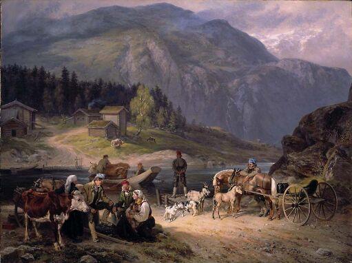 Overfartsscene fra Telemark