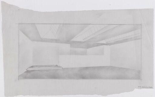 Galleribygg for Sejersted Bødtker, forslag til utforming av overlys