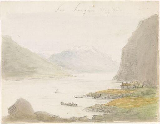 Fra Lusterfjorden