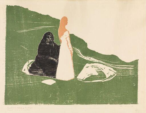 To kvinner ved stranden