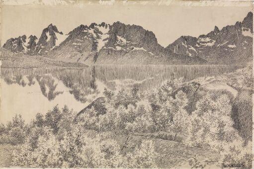 Fra Digermulen i Raftsund, Lofoten