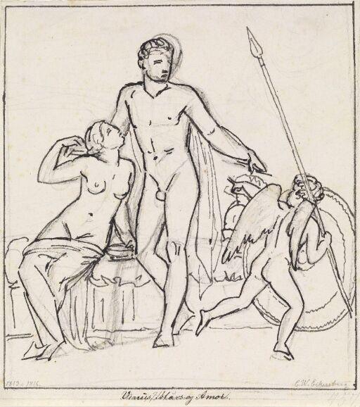 Venus, Mars og Amor