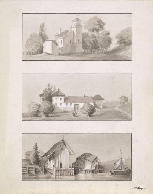 Tre arkitekturmotiver