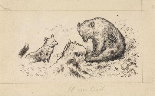 """Spruce, Fir and Pine!"" growled the Bear"