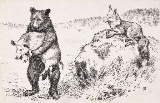 """""""Pork!"""" said the Bear"""