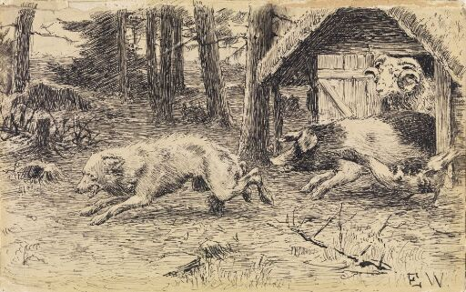 """""""But if he had caught me, I never would have come out alive!"""" (""""The Ram and the Pig who Went into the Woods to Live by Themselves"""")"""