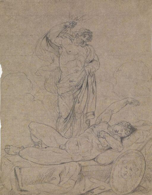 Zeus og sovende gud