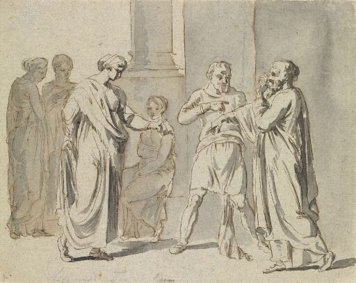 Scene from a comedy by Terence