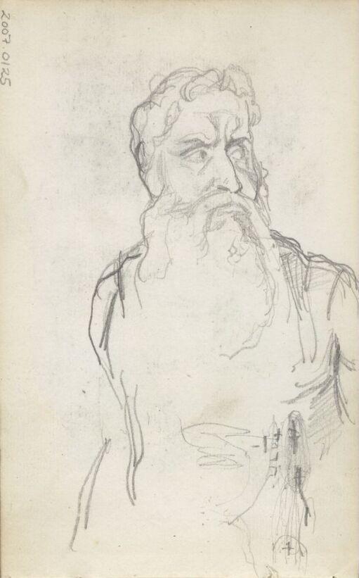 Moses. Studie etter Michelangelo