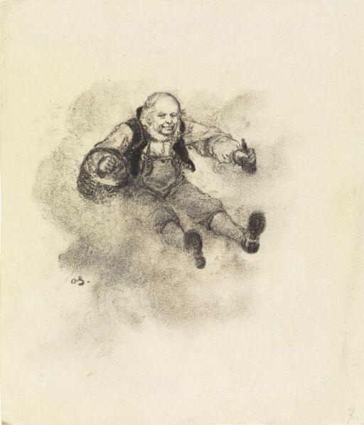 """Illustrasjon til """"Askeladden og de gode Hjælperne"""", i P. Chr. Asbjörnsen, Eventyrbog for Børn II. Norske Folkeeventyr, København 1884"""