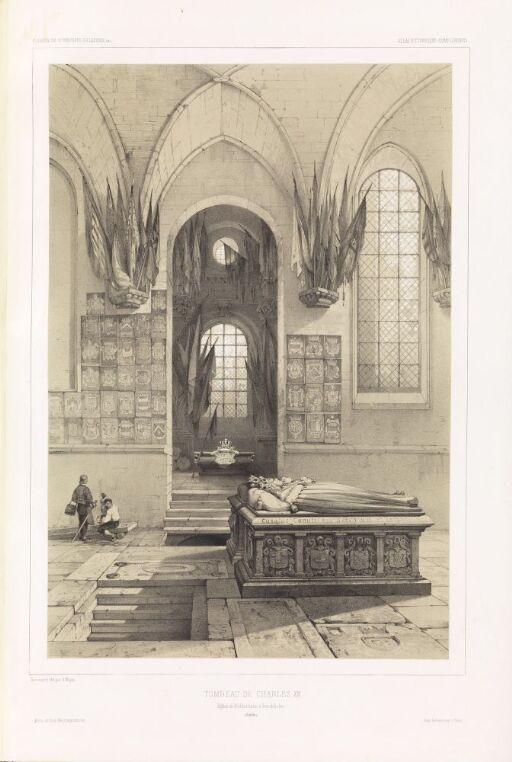 Karl XIIs grav i Riddarholmskirken i Stockholm