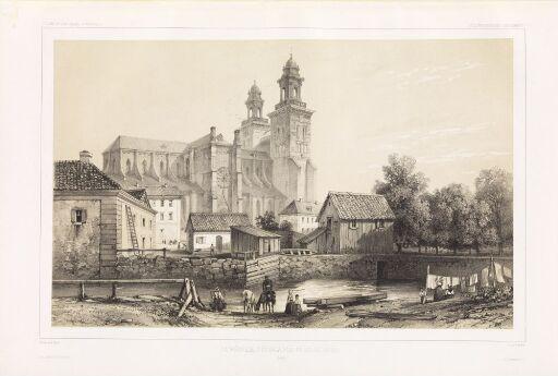 Domkirken i Uppsala sett fra nord