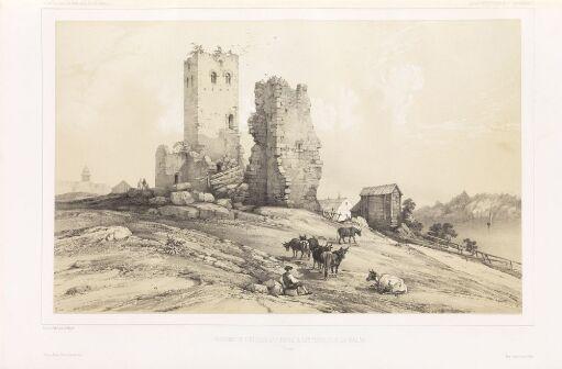 Ruinene av Petrikirken i Sigtuna