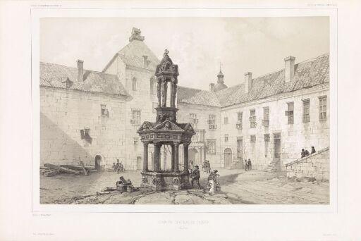 Borggården til Kalmar slott