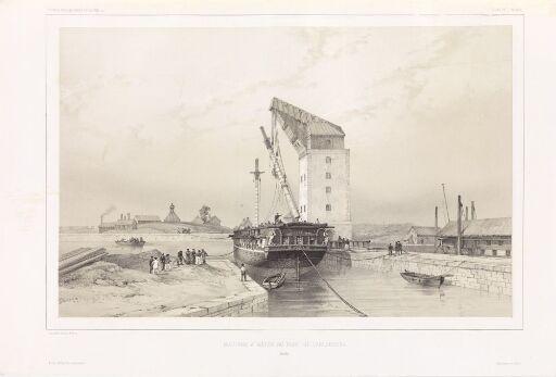 Skipsmastmaskin i Karlskrona
