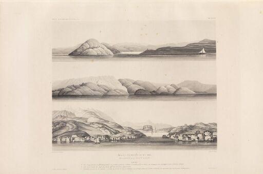 Trace anciennes de la mer (côte occidentale de Norvège, environs de Drontheim, no I)