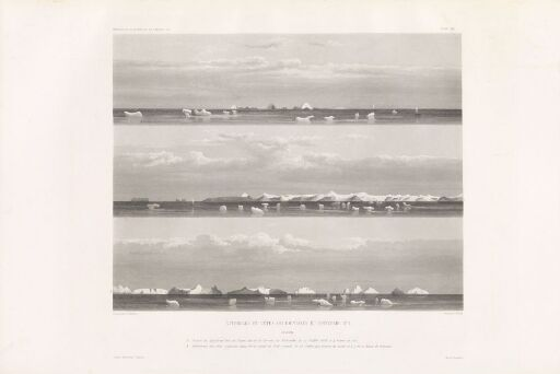 Atterrage et côtes occidentales du Spitzberg, no 1