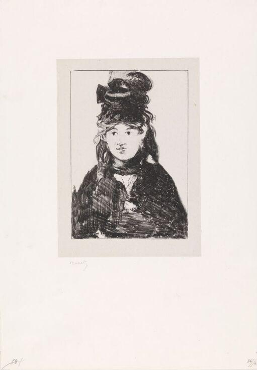 Berthe Morisot in black