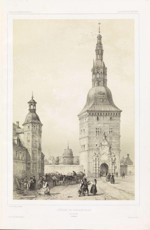 Hovedtårnet på Frederiksborg slott