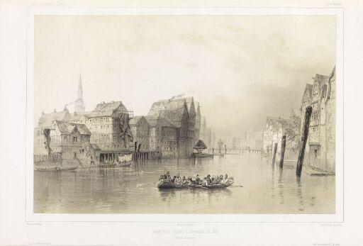 Hamburg før brannen i 1840