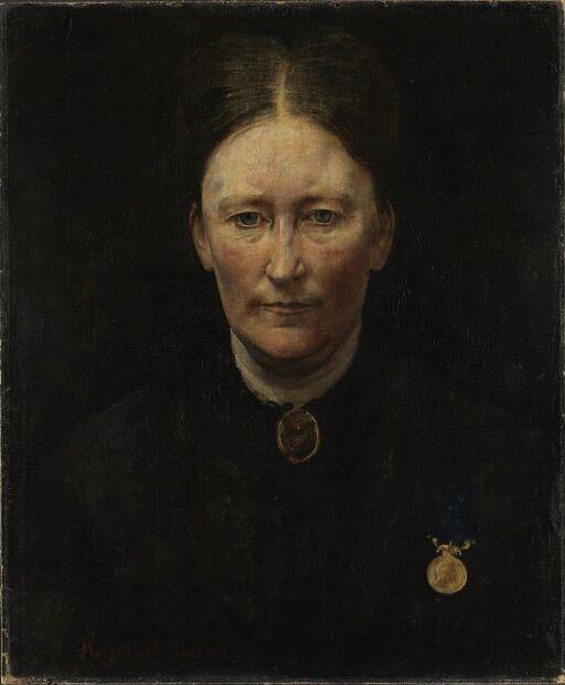 Portrait of the Actress Laura Gundersen