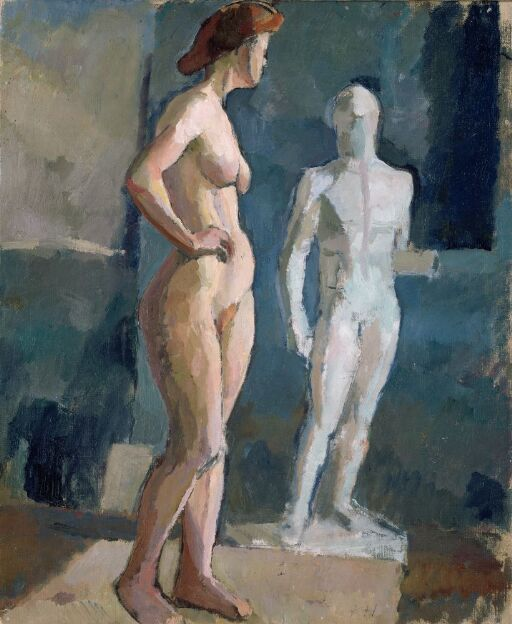 Nude Model, Paris