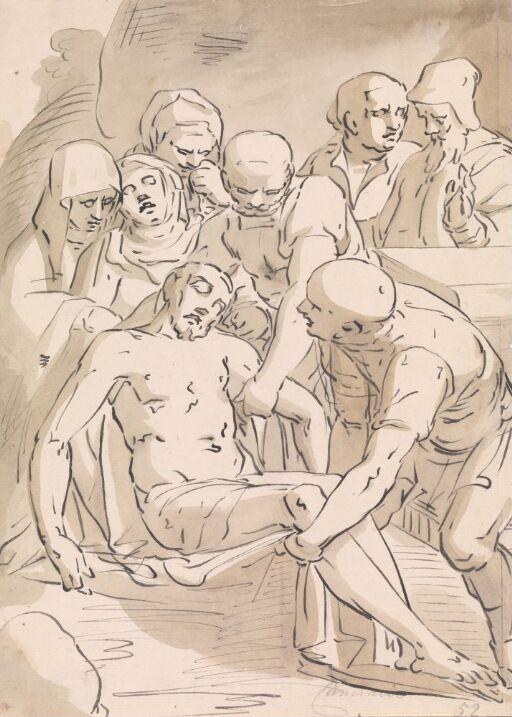Kristi gravleggelse